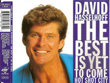 DAVID HASSELHOFF - the best is yet to come MAXI-CD 2TR 1994 RARE!!!