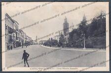 TREVISO CASTELFRANCO VENETO 16 Cartolina viaggiata 1934