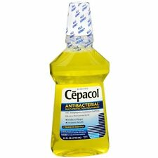 2 Pack Cepacol Mouthwash Gold Antibacterial Mouthwash 24 Oz Each
