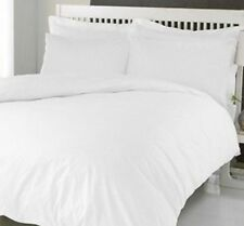 New! Rich & Luxurious! White Queen Duvet Cover Sobel Westex Sobella Retail $129!