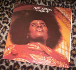 ALICE COLTRANE ~ LORD OF LORDS. RE 1976 vinyl LP. Jazz. M-/EX.
