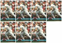 (7) 1992 Stadium Club Dome Baseball #18 Wade Boggs Boston Red Sox Card Lot