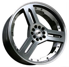 19x7.5 HD Wheels Rims SINGOW 4x100/4x114.3 Gloss Black Mach Tuner JDM Style