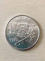 Rogues Token ~1975 Gladiators - Jack the Ripper -Blackbeard- Attila the Hun Coin