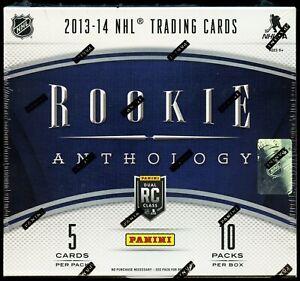 2013-14 Panini Rookie Anthology Hockey Box w/ PRIZM