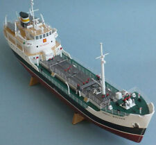 "Model Kit Ship 1/130 English Coastal Tanker ""Shell Welder"" Boats Gift Toy"