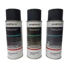 couleur de poêle ofenspray 400 ML NOIR METALIQUE Senotherm Spray four couleur