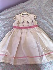 Monsoon Christening/Party/Bridesmaid/Flower Girl Dress Aged 2-3 Years