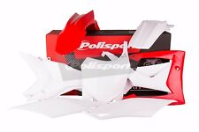 Kit Plástico Honda CRF 450 R 2013 - 2016/CRF 250 R 2014 - 2017 Rojo Blanco 90536