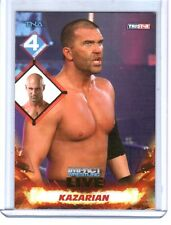 TNA Kazarian #18 2013 Impact Wrestling LIVE GOLD Parallel Card SN 8 of 50