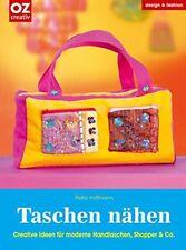 Taschen nähen ** Handtaschen, Shopper & Co. ** OZ Verlag