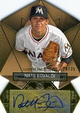 Nate Eovaldi 2014 Topps Supreme Stylings 28/35 Yankees Certified Autograph Auto