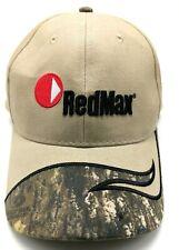 REDMAX Outdoor Power Equipment beige adjustable cap / hat