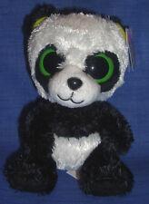 W-F-L TY Beanie Boos  Bamboo Panda 15 cm grüne Ohren Boo´s