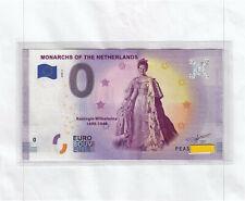0-Euro-Schein PEAS 2020-6  MONARCHS OF THE NETHERLANDS - € Souvenir