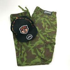 Trukfit Pants Hat Combo Camo Slim Fit Skate Lil Wayne Snapback Mens Size 34