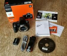 Sony Alpha SLT-A55 16.2MP Digital SLR Camera (Body Only) (SLTA55V) No Charger