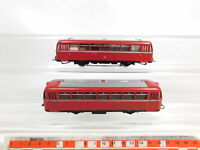 CE320-1# 2x Märklin H0/AC 3016 Schienenbus 2. Klasse 959189 DB