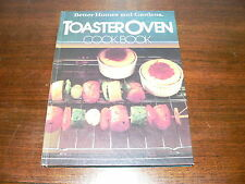 Vintage Better Homes and Gardens Toaster Oven Cookbook~Hardcover Recipe Book