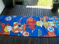 single bed quilt doona cover  bob the builder theme used condition no 1