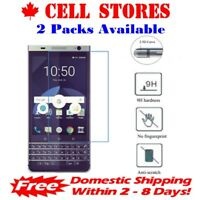 Tempered Glass Screen Protector for Blackberry Keyone & Mercury & DTek70 (2 Pks)