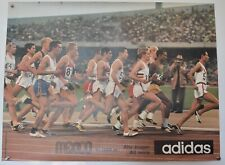 Original Vintage Poster - Adidas 10.000 Run Mexico Olympics 1968