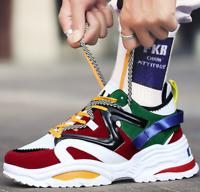Zapatos De Moda Urban Street Zapatillas Deportivas Casual Multicolor Juvenil