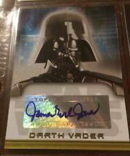 Star Wars Evolution Update James Earl Jones As Darth Vader Autograph Card
