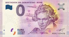 """0 Euro Schein - """"Beethoven 250. Geburtstag"""""""