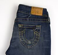 True Religion Femme Johny Slim Jeans Extensible Taille W28 L34 AOZ1145