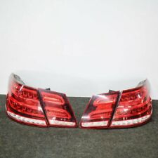 MERCEDES-BENZ E-CLASS W212 220 CDI Rear LED Tail Lights Set A2129060803 2014