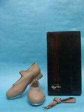 NEW Jazz Tap Shoes Bloch DN3720G Tan Girls Student Dance Now Size 1 W