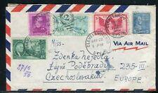 Etats Unis - Enveloppe de Cleveland pour la Tchécoslovaquie en 1950 - ref D279