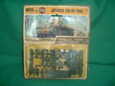 Carded Airfix Japanese Chi HA Tank Series 1 Scale Model Construction Kit 01319-4