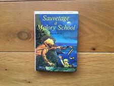 Enid BLYTON Sauvetage à Malory School Nouvelle bibliothèque rose 390