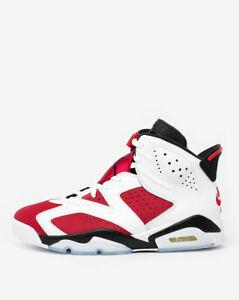 Nike Air Jordan Retro 6 CARMINE 2021 Red White CT8529-106 Men & GS NEW