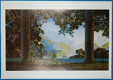 "MAXFIELD PARRISH RUBAIYAT of OMAR KHAYYAM POSTER SIZE 11/"" x 34/"" GREAT TO FRAME!"