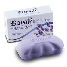 ROYALE BATH SOAP - LAVENDER EXTRACTS & CHAMOMILE