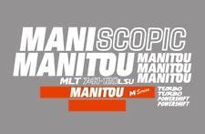 Sticker, aufkleber, decal - Manitou Maniscopic MLT 741-120 LSU