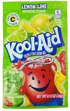 10 LEMON LIME FLAVOR Kool Aid Drink Mix dye Vitamin C popsicle fun