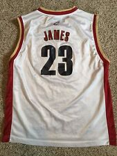 Cleveland Cavaliers Lebron James #23 Nba Basketball Youth Boys Xl Reebok Jersey