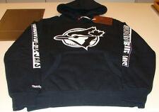 Toronto Blue Jays MLB Baseball Hoodie Sweatshirt Mitchell Ness XL Retro Logo