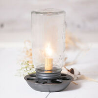 Primitive/Country CHICKEN FEEDER Accent Candle Lamp Authorized Dealer FREE SHIP