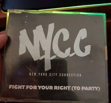 NYCC - Fight For Your Right To Party - MUSIC SINGLE CD - FREE POST