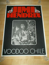+++ 1970 JIMI HENDRIX Voodoo Chile Promo Poster