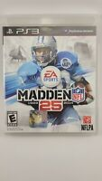 NFL Madden 25 PS3 Sony PlayStation 3 Video Game