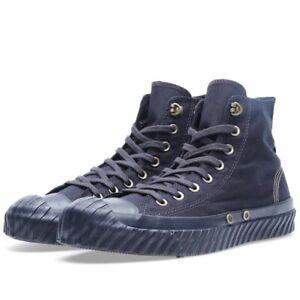 Converse / Nigel Cabourn Colab Blue Canvas Hi-top Sneakers!!!