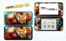 SKIN STICKER AUTOCOLLANT - NINTENDO NEW 2DS XL - REF 181 AVENGERS IRON MAN