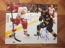 Benoit Pouliot Autographed Auto Signed 8x10 Photo Boston Bruins Oilers