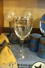 Western  Wine Glasses Branded Glassware Dinnerware 10 1/2 OZ. Western Glasses